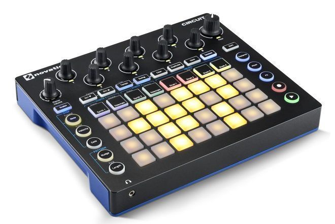 novation circuit new synth